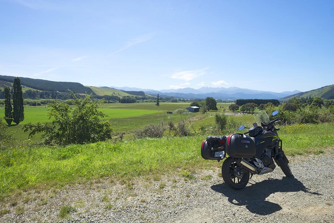 On the Motueka Valley Highway