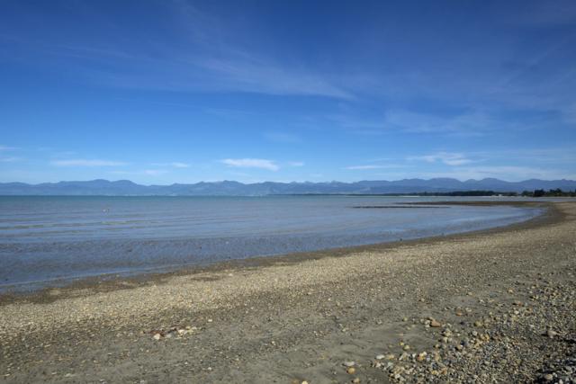 Tasman Bay, Nelson in the distance